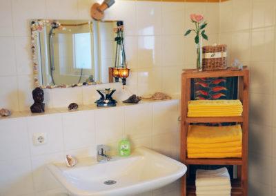 Badezimmer mit Ambiente